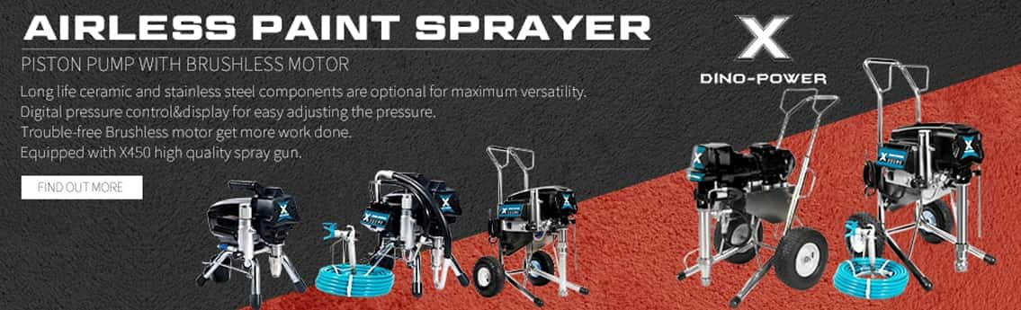 airless paint sprayers electric