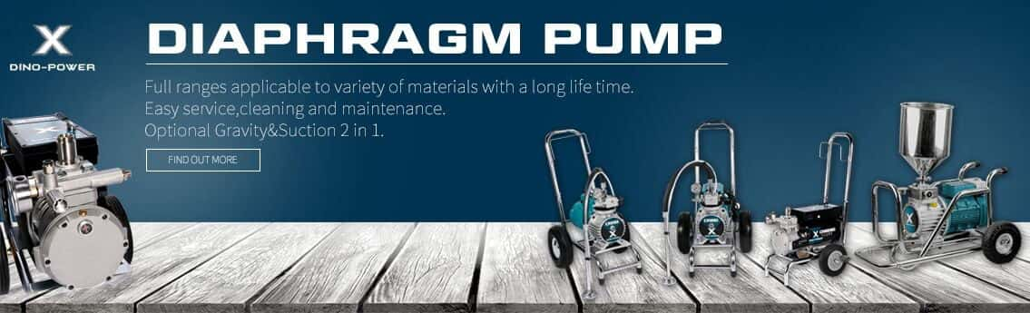 diaphragm pump electric airless paint sprayers