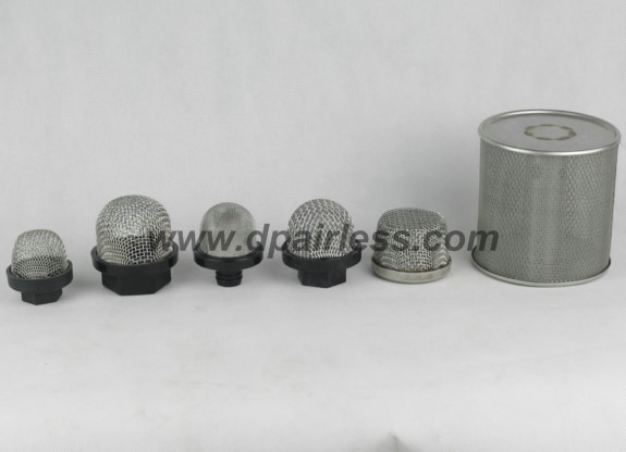 paint pump inlet strainers