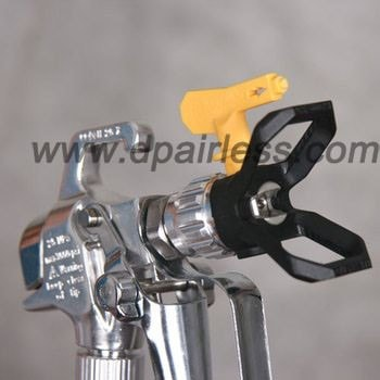 Airless paint spray guns