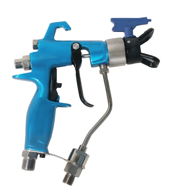 Pneumatic airless sprayers stainless steel fluid pump air for Air or airless paint sprayer