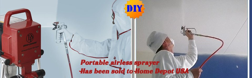 airless sprayers for DIY users