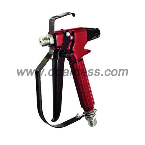 Bar high pressure airless spray gun ready in may
