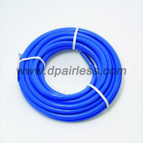 DP-637H 2-layers FIBRE braided high pressure airless painting hose