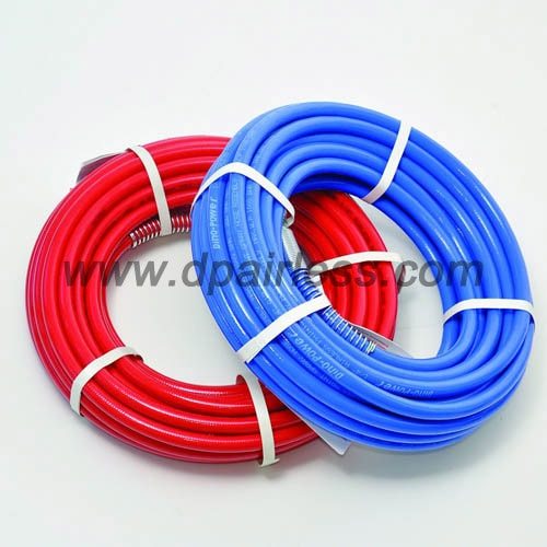 high pressure braided hose painting