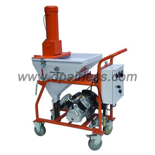 putty plaster gypsum drywall mud sprayer machine