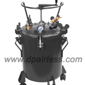 Paint tanks, paint mixers