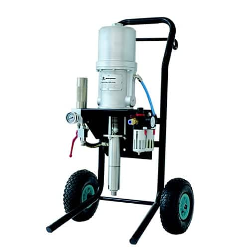 Airless paint sprayers - Pneumatic