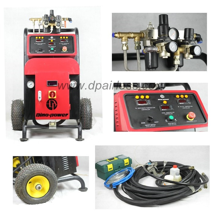 How to choose the foam spraying machine ? | DP airless paint