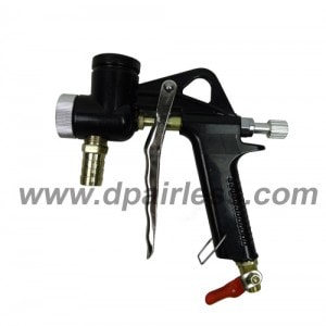 spray gun for texture with air assist