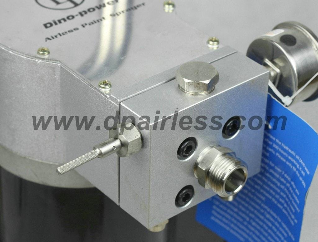 Front pump + out valve
