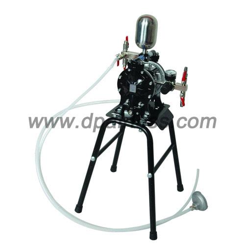 K25 compressor powered pump fine finish spraying
