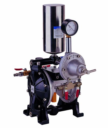 K25B double membrane pump with fluid regulator