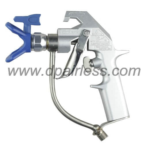 DP-6376 Silver plus type airless spray gun (wo filter inside)