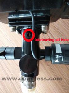 DP-6388B lubricating oil hole1