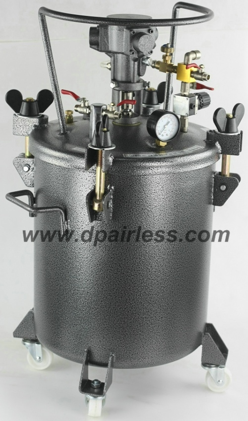 Air-agitator Auto Mixing Paint Tanks (10L/20L/40L/60L)