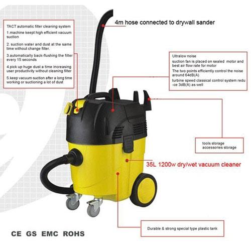 professional automatic vacuum cleaner
