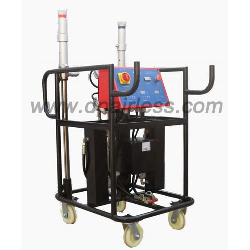 Video of DP-A20 polyurethane foam spraying machine