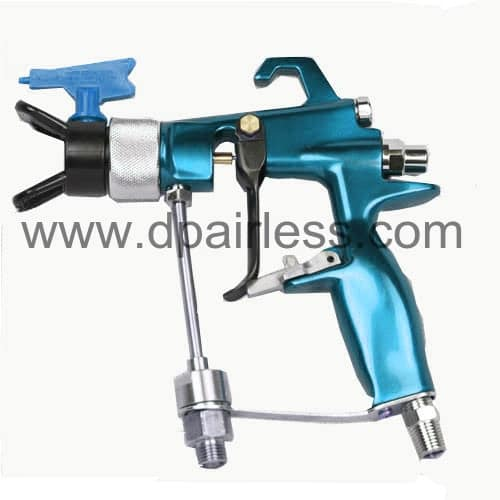 air-assisted airless spray gun for fine finish spraying