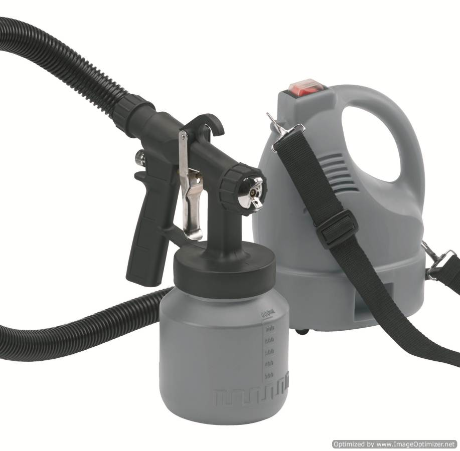 DP-6152 Electric HVLP paint spray gun with brass nozzle needle
