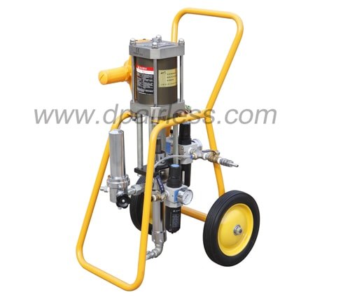 Air-assited airless penumatic paint machine