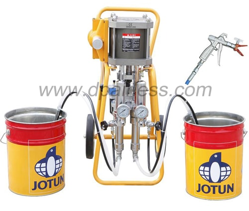 1:1 two components spraying machine