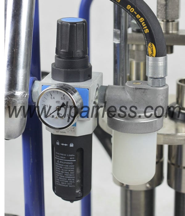 oil-water filter Plural Components spray machine