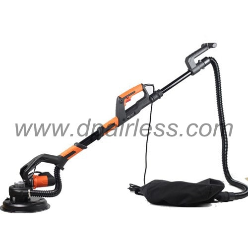 dustless drywall sander with automatic vacuum system