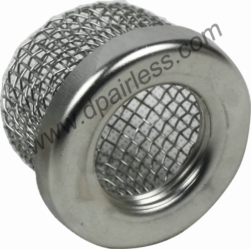 stainless steel inlet suction filter