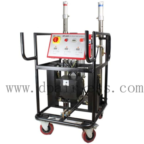 polyurethane foam spraying system