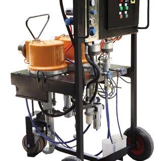 Dois-componentes pulverizador