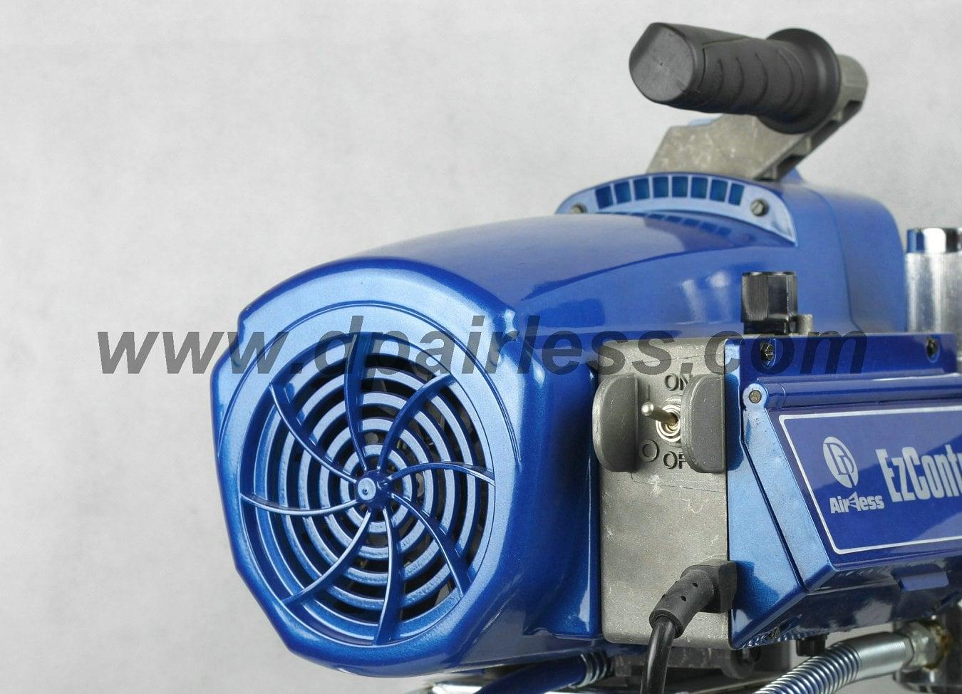 Dp 6490ib professional pintura pulverizador brushless for Bomba manual para pintar con cal