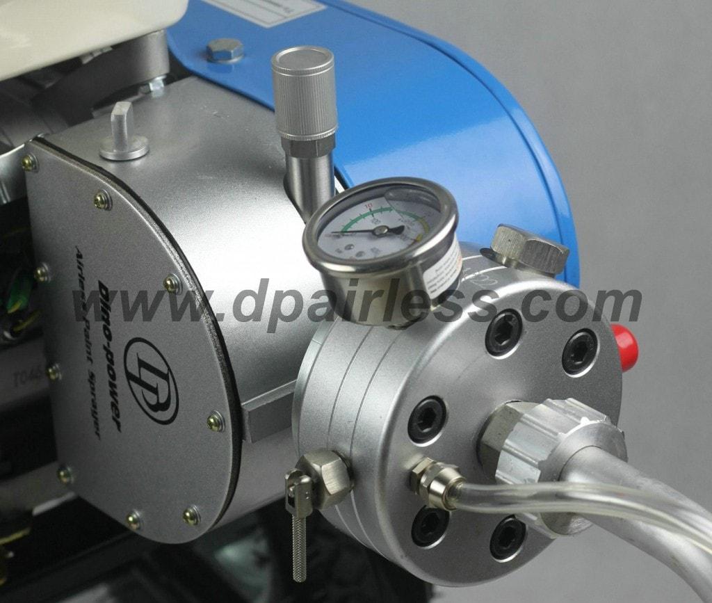 6845.gasolina airless bomba frente pulverizador