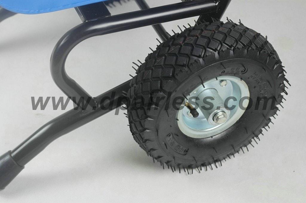 6845.gasolina rodas pulverizador airless