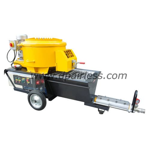 DP-N6M Mixing Mortar-Spraying Machine (with MIXER, without COMPRESSOR, same as Putzmeister S5 EV )