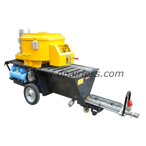 DP-N6MC cement mortar sprayer (with MIXER, with Combined German KOELLMANN COMPRESSOR or Separate Chinese Compressor )
