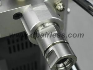 en acier inoxydable pompe à fluide avec un design unique pour faciliter le démontage