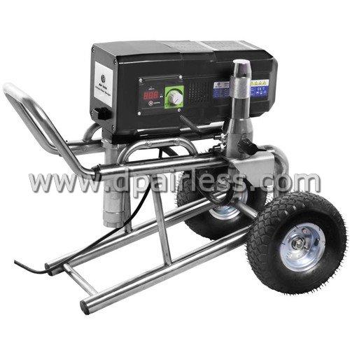 DP6840iB/iL professionele Elektrische verfspuit apparatuur voor grote volumes, borstelloze motor, trolley