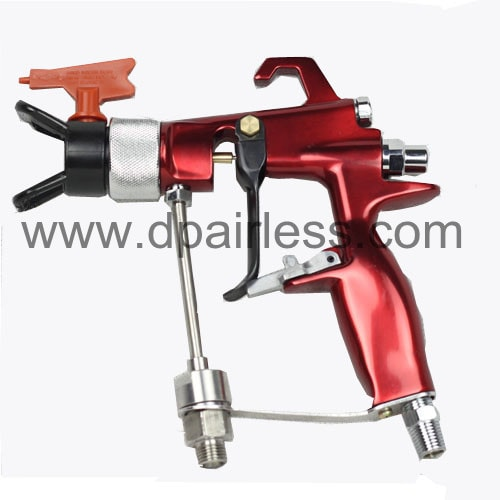 DP-637G40 Air-Assisted Airless Spray Gun Para Acabamento Fino