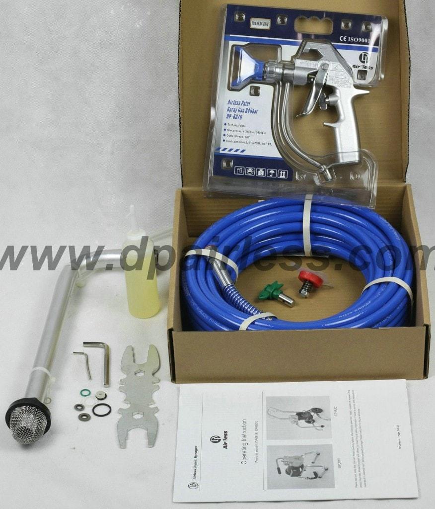 dp6820 dp6818 lectrique airless avec pompe membrane dp airless peinture. Black Bedroom Furniture Sets. Home Design Ideas
