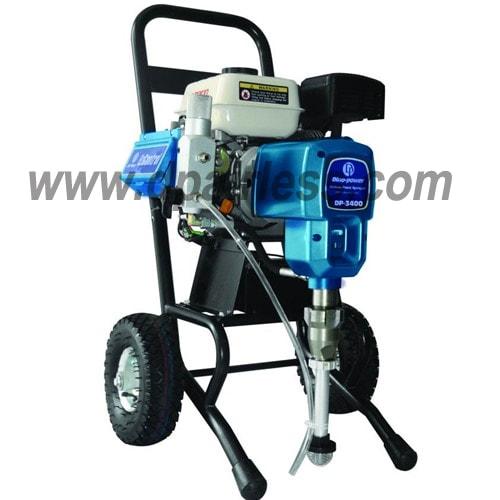 DP-3400 / DP-3900 Поршневой окрасочный аппарат безвоздушного распыления с бензиновым двигателем
