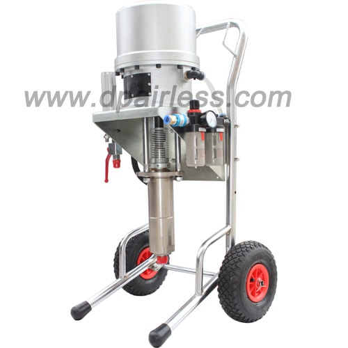 How to chose proper pneumatic airless pump for the painting application?