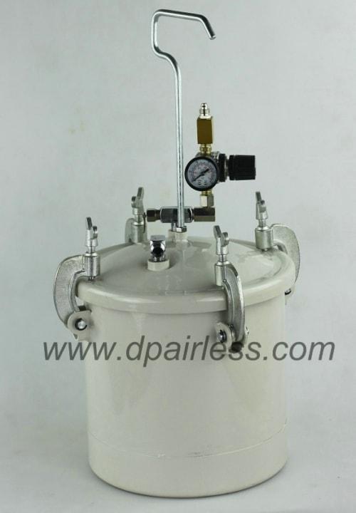 DP-6402 Paint Tank with Spray Gun Combo Kit