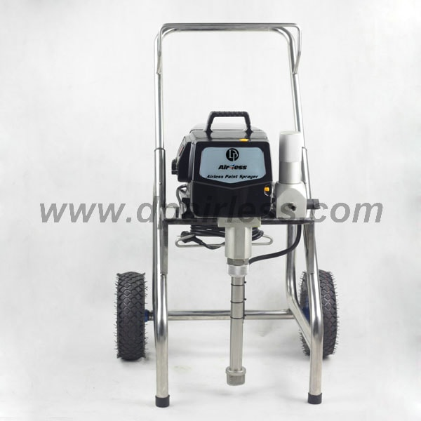 front of airless paint sprayer