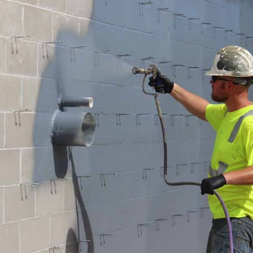 airless sprayer for waterproof coating spraying
