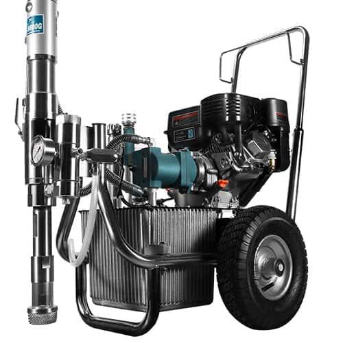 Airless paintsprayer Hydraulic