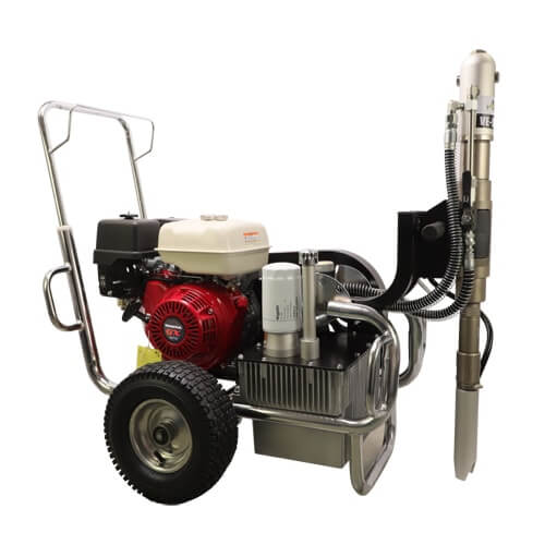 DP-9600G Gas Hydraulic Airless Sprayer
