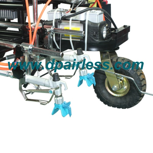 Double Spray Guns for DP-LC860 Hydraulic Line Painting Equipment