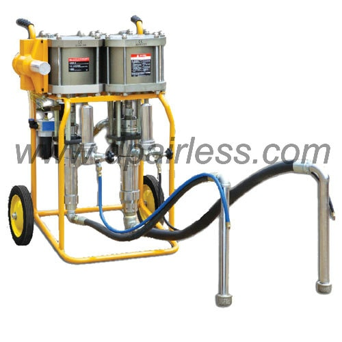 DP-3845/4634/3834 Plural Components Spray equipment 1:2 1:3 1:4 for liquid rubber