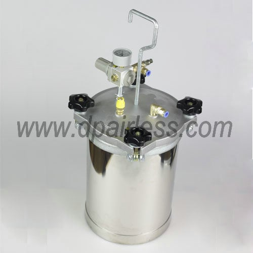 stainless steel pressure tank for water-based and oil-based coatings spraying